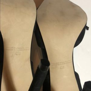 Steve Madden Shoes - Steve Madden black roebella lace up pumps heels